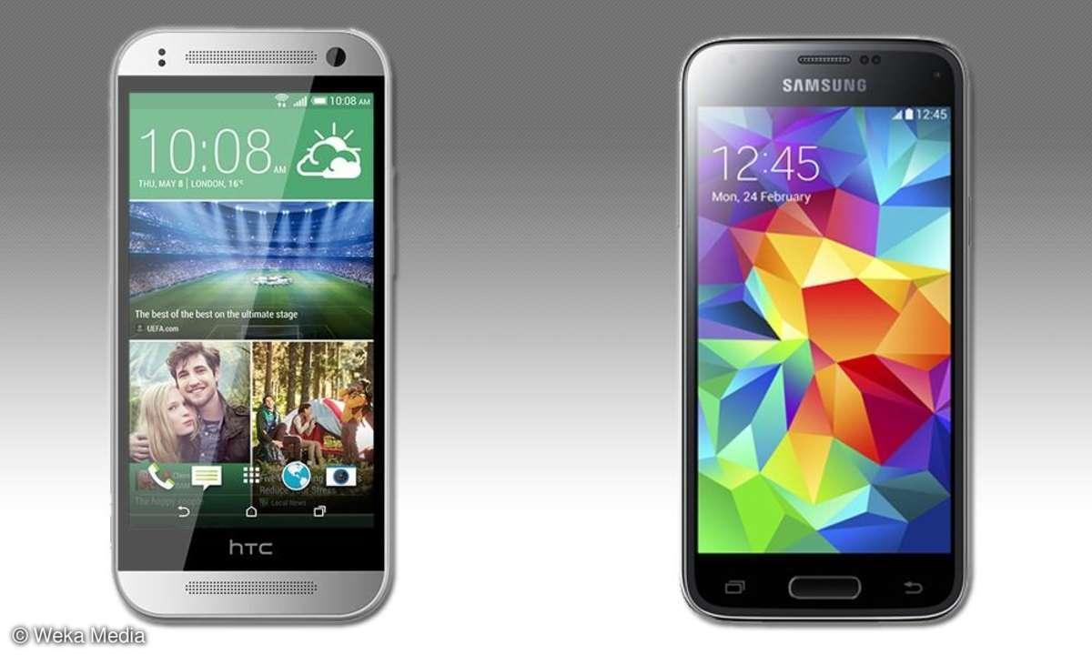 HTC One mini 2, Samsung Galaxy S4 mini, Vergleichstest, Gegenüberstellung