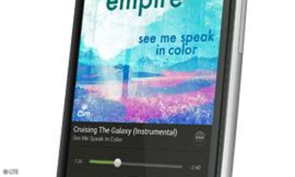 HTC One XL, LTE-Smartphone