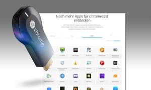 Chromecast Apps in neuer App Store Übersicht