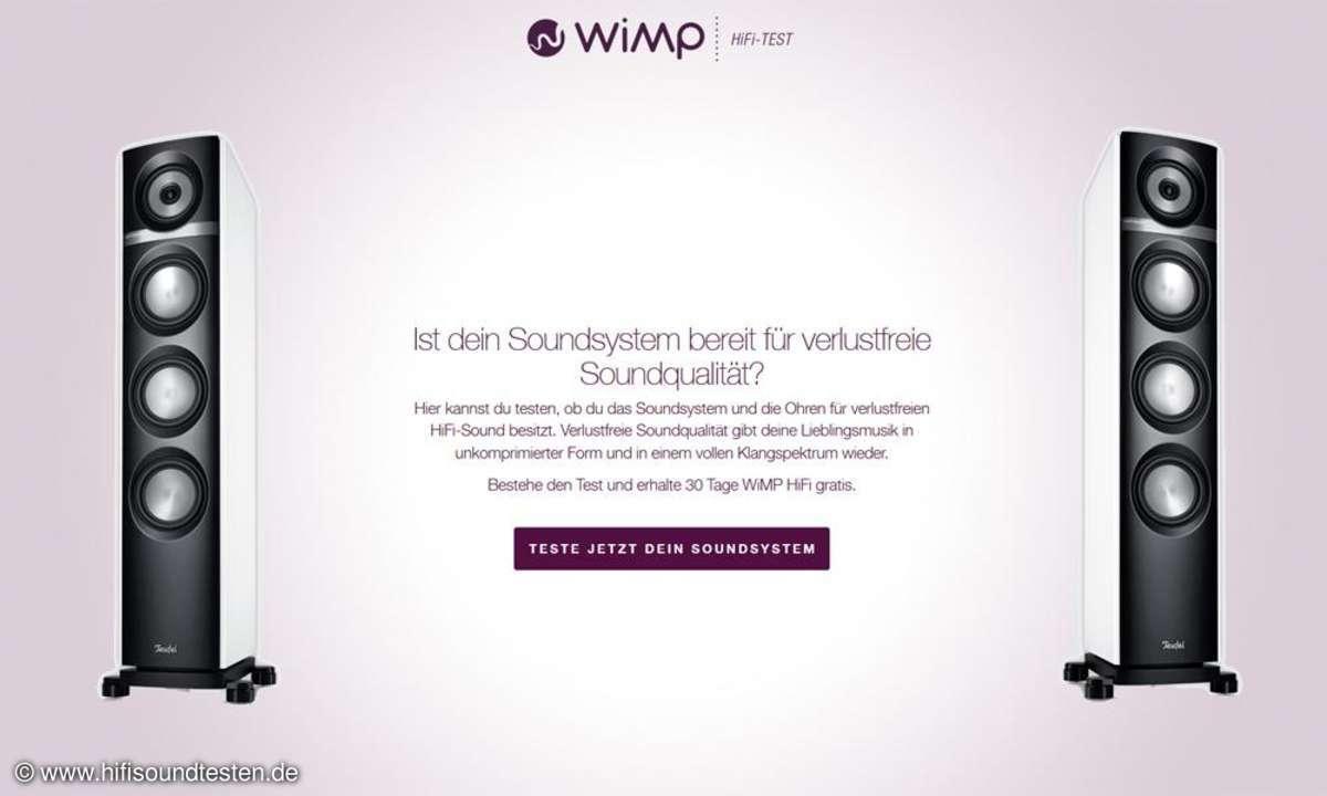 WiMP HiFi-Test
