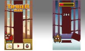 Timberman, app, ios, itunes, apple, spiele, games