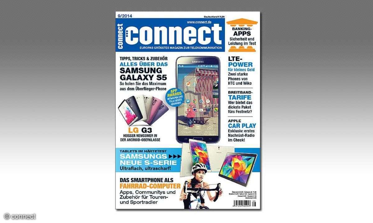 Die connect-Ausgabe 9/2014 ist da!