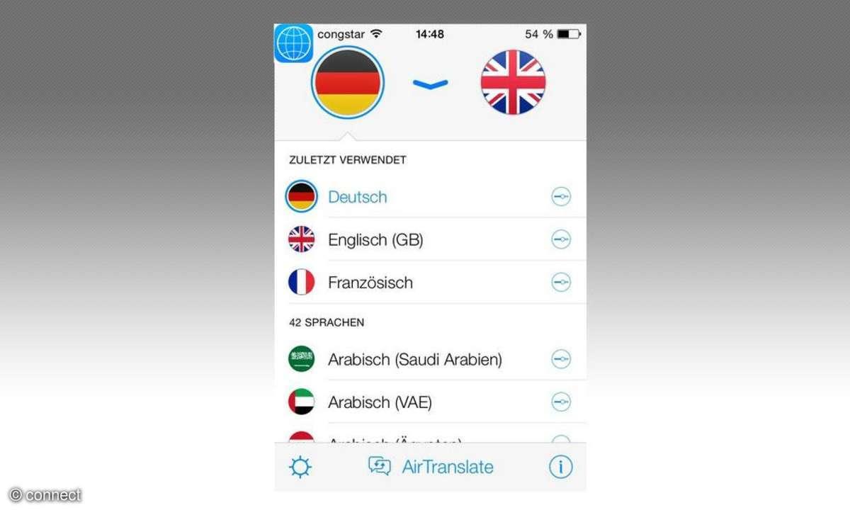 Apps,Übersetzer,iTranslate