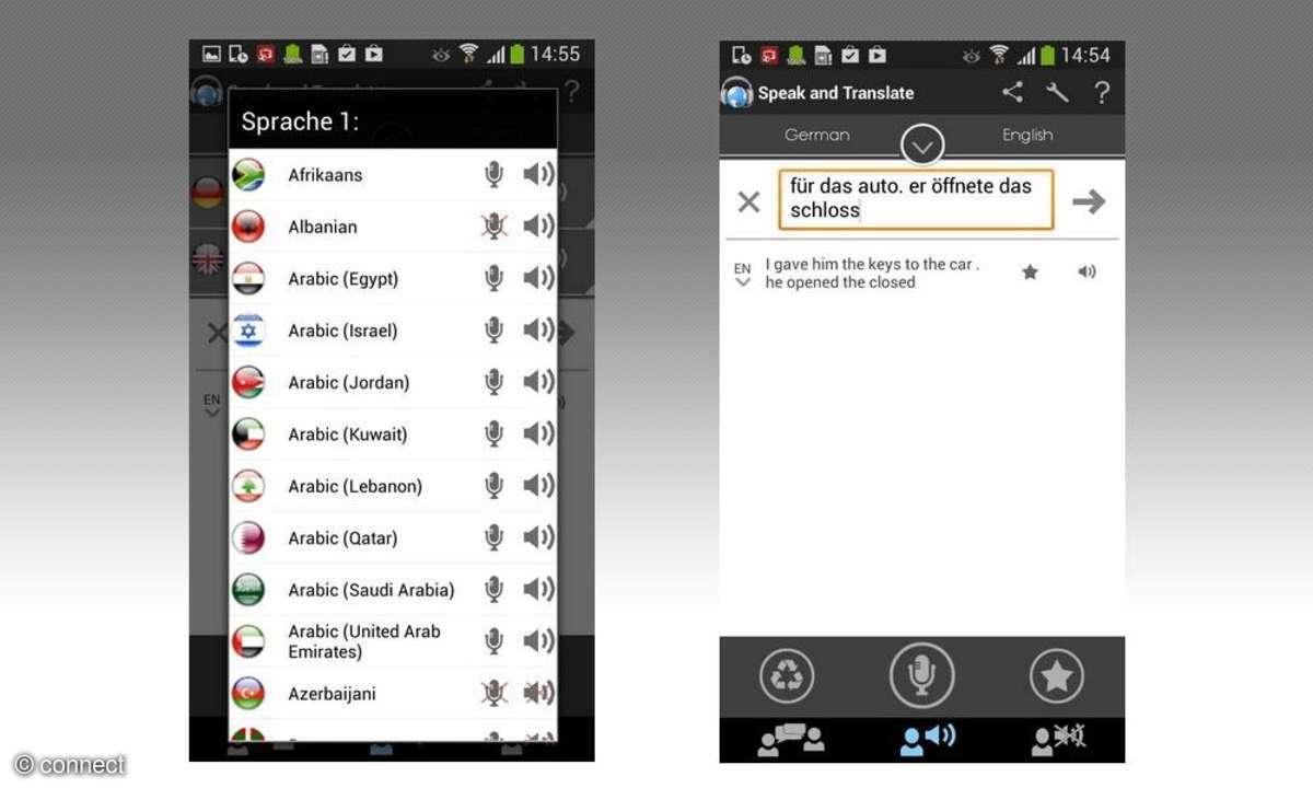 App,Übersetzer,Speak and Translate