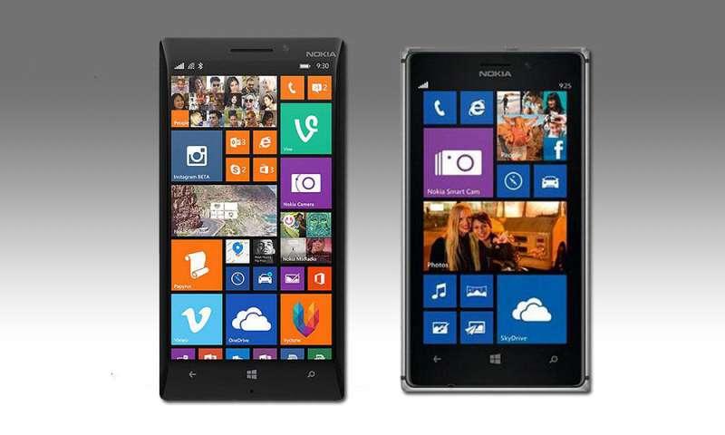 Nokia Lumia 930 und Lumia 925 im Vergleichstest