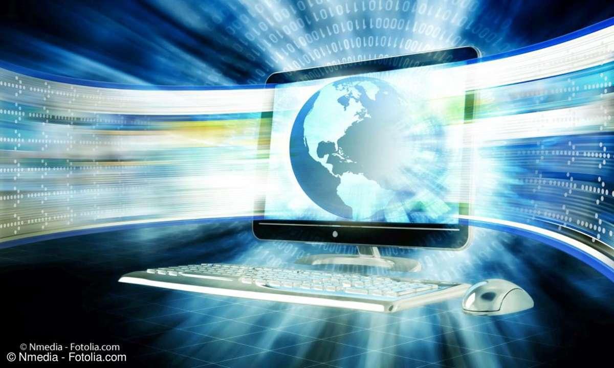 Internet Breitband-Download