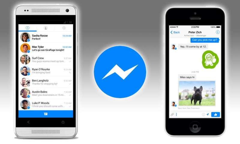 Messenger Facebook Umgehen