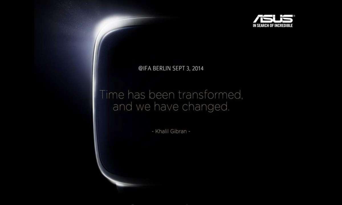 Asus Smartwatch auf IFA 2014