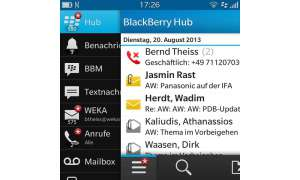 Blackberry Q5 - Hub