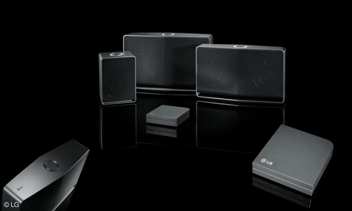 LG Music Flow Multiroom Audio-System