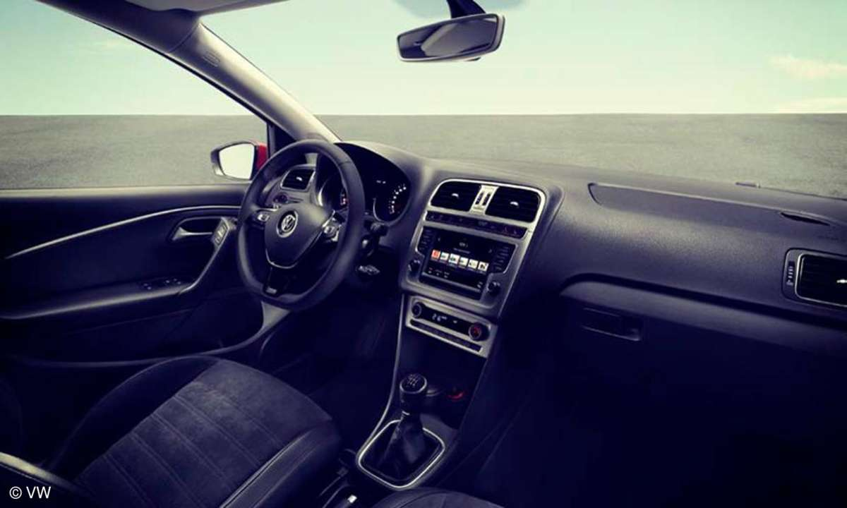 VW Polo Navi Innenausstattung