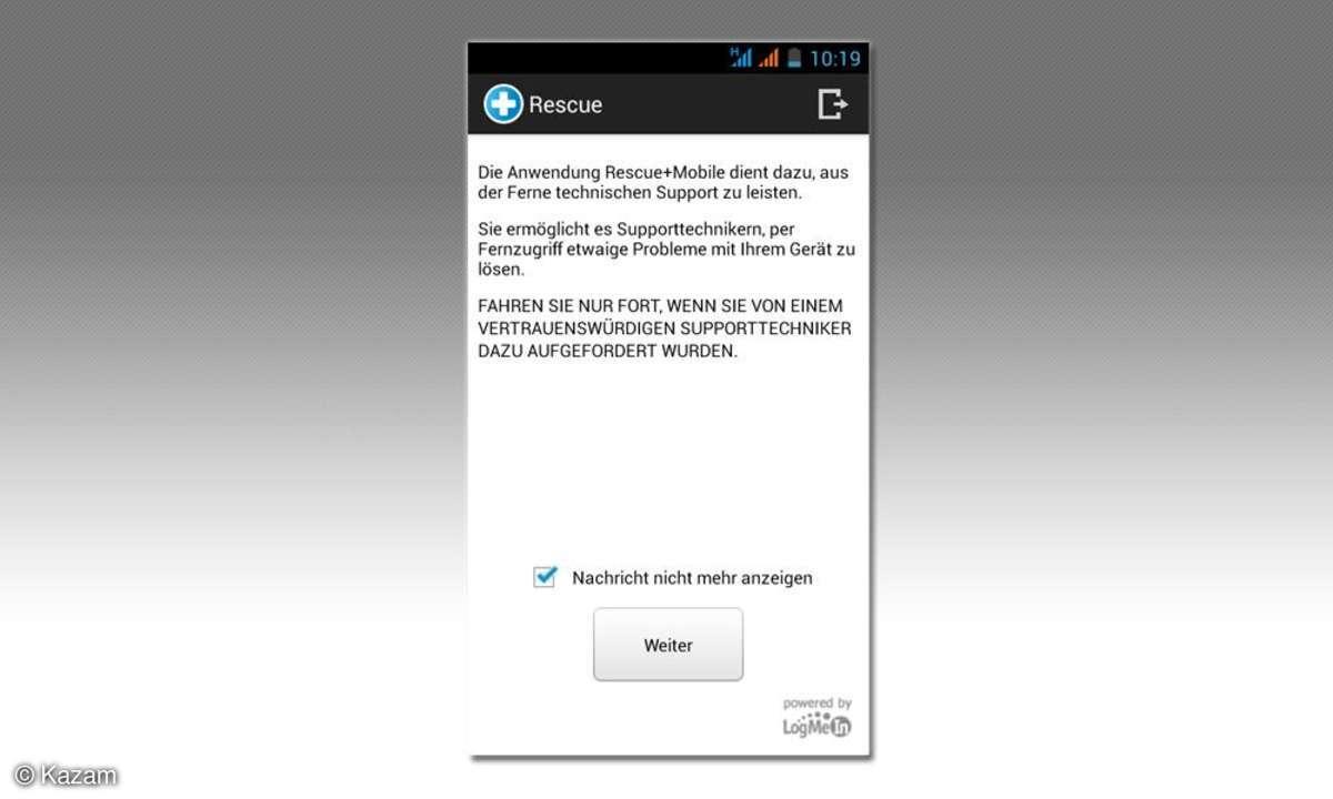 Kazam Thunder Q4.5, Dual-Sim-Smartphone