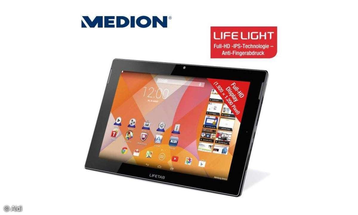 Medion Lifetab S10224, Aldi-Aktion