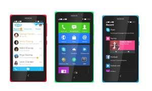 Nokia X, X+ und XL