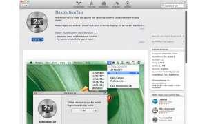 Resolution Tab, Apple, 4K-Displays