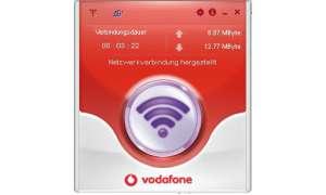 LTE Vodafone-Dashboard