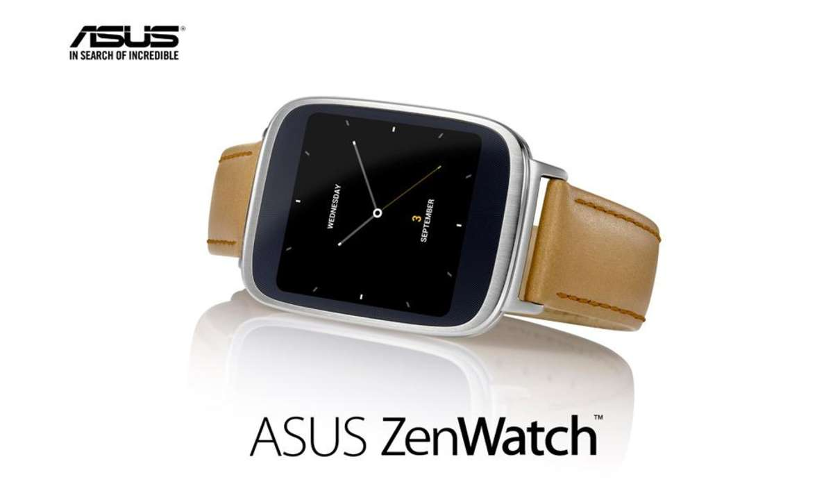 Asus ZenWatch mit Android Wear