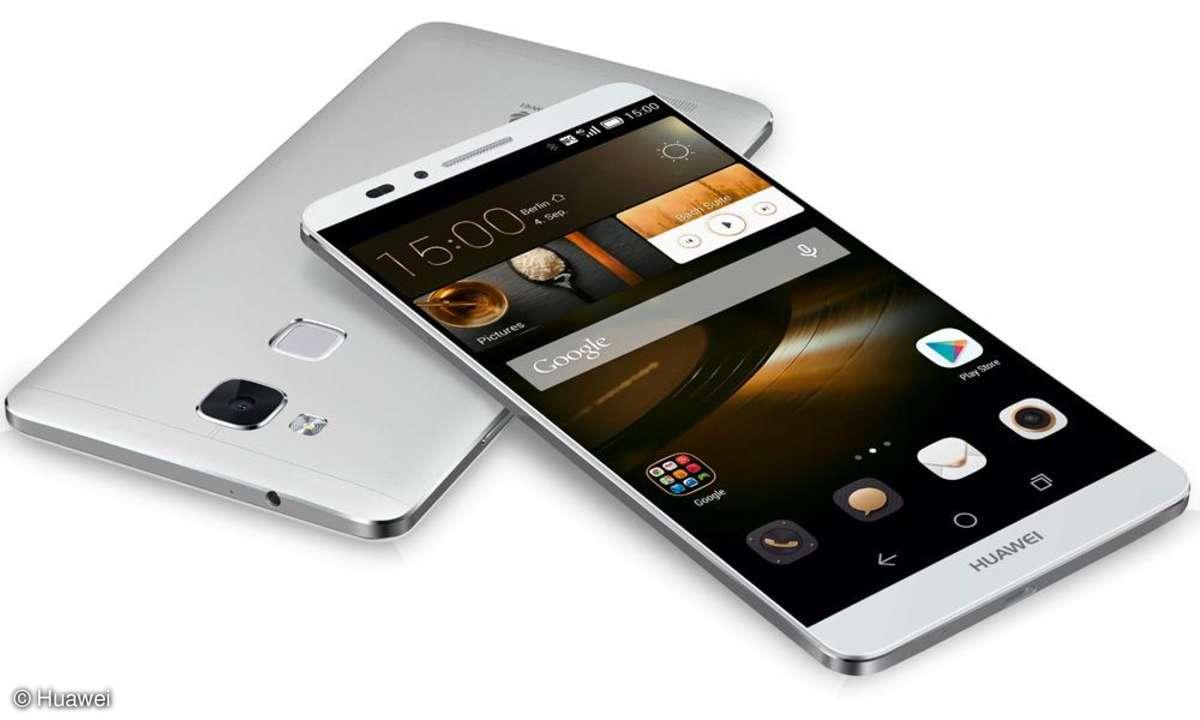 Huawei Ascend G7 und Mate 7: Huawei hat auf der IFA zwei Phablets vorgestellt.