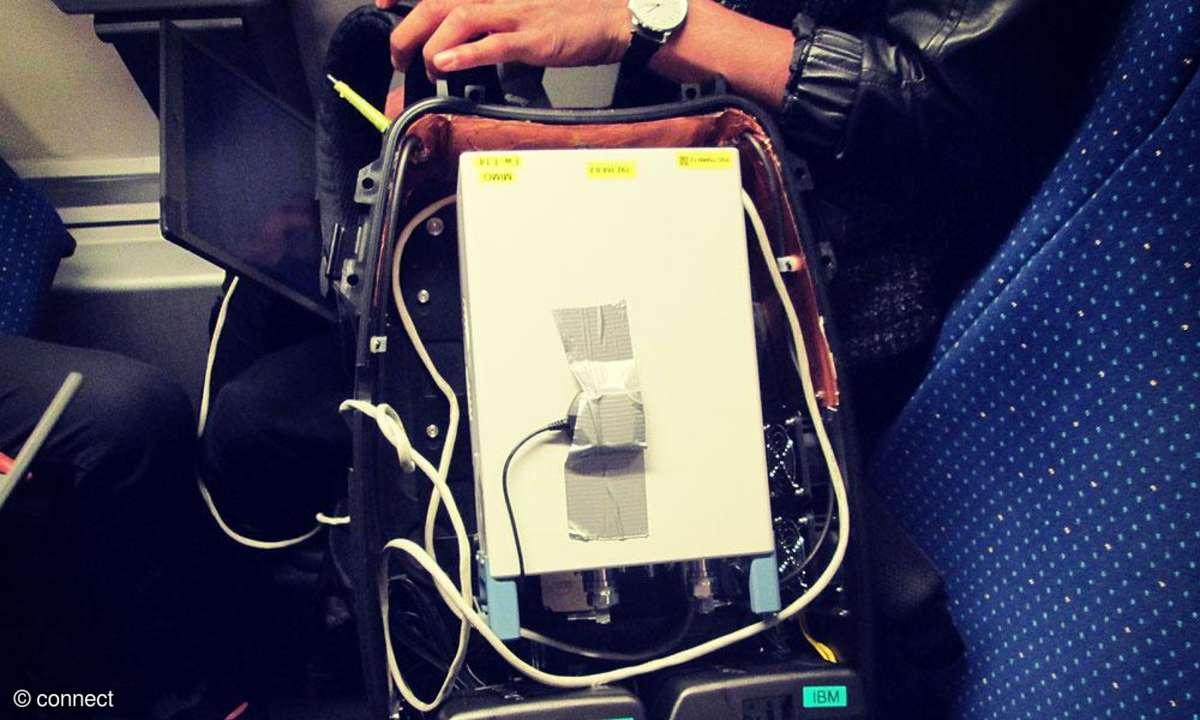 Netztest Schweiz SBB Testequipment