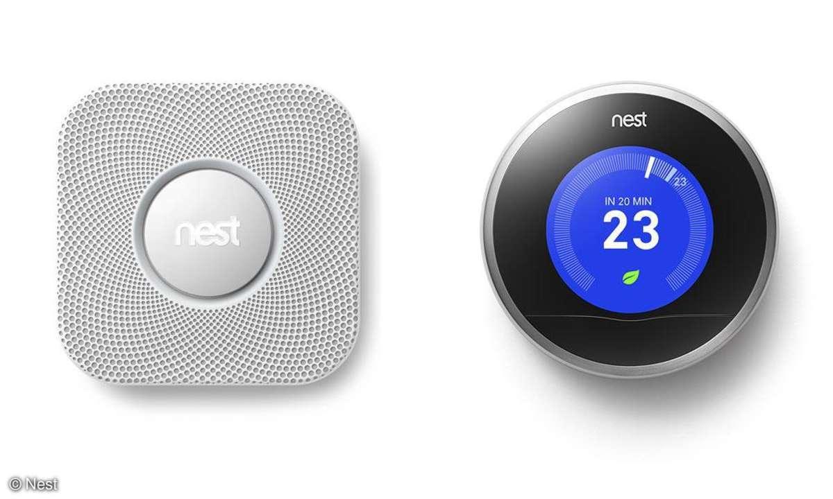 Nest Protect und Nest Thermostat