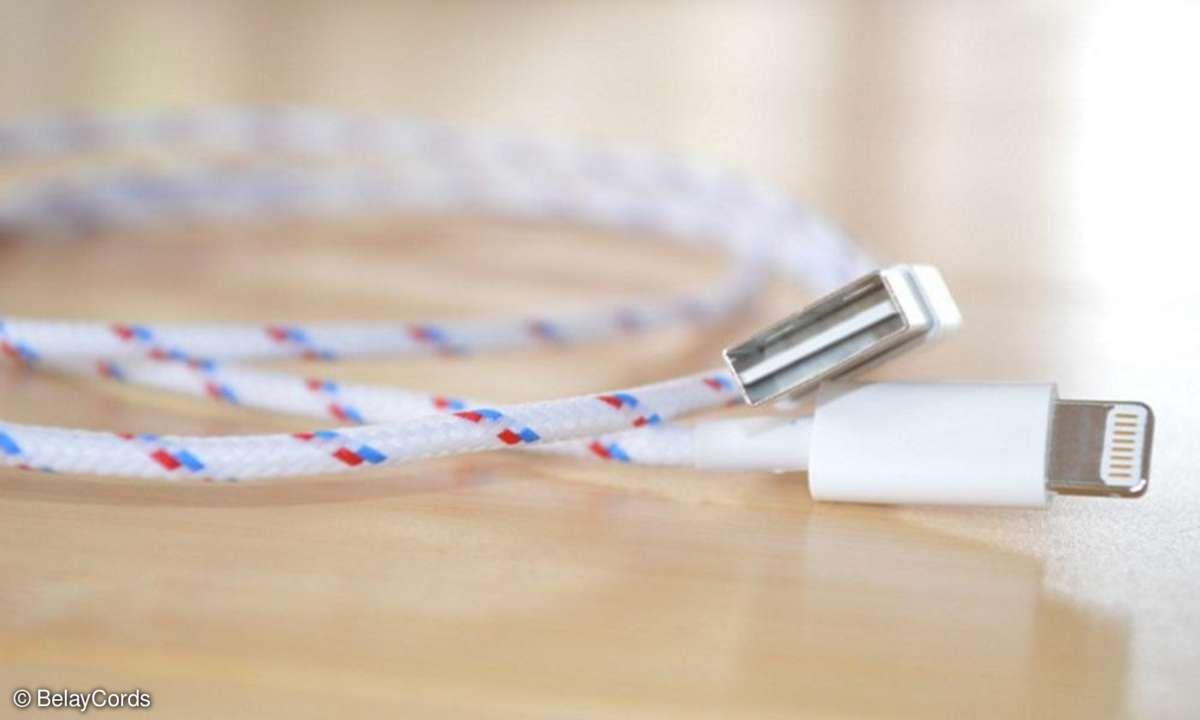 BelayCords will per Kickstarter die USB-Ladekabel revolutionieren.