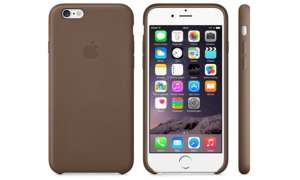 iPhone 6 Leder Case - Olive Brown