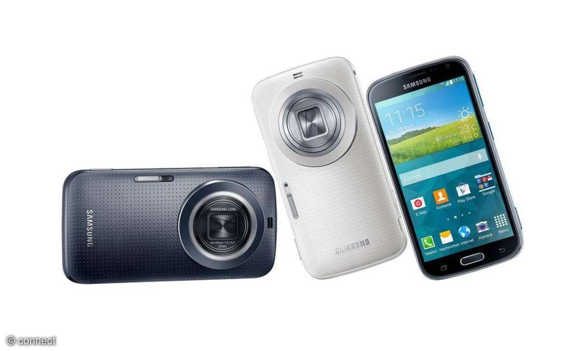 Samsung Galaxy K Zoom, Android, Smartphone, Samsung, Fotokamera