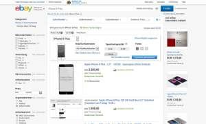 iPhone 6 (Plus) bei eBay viel zu teuer