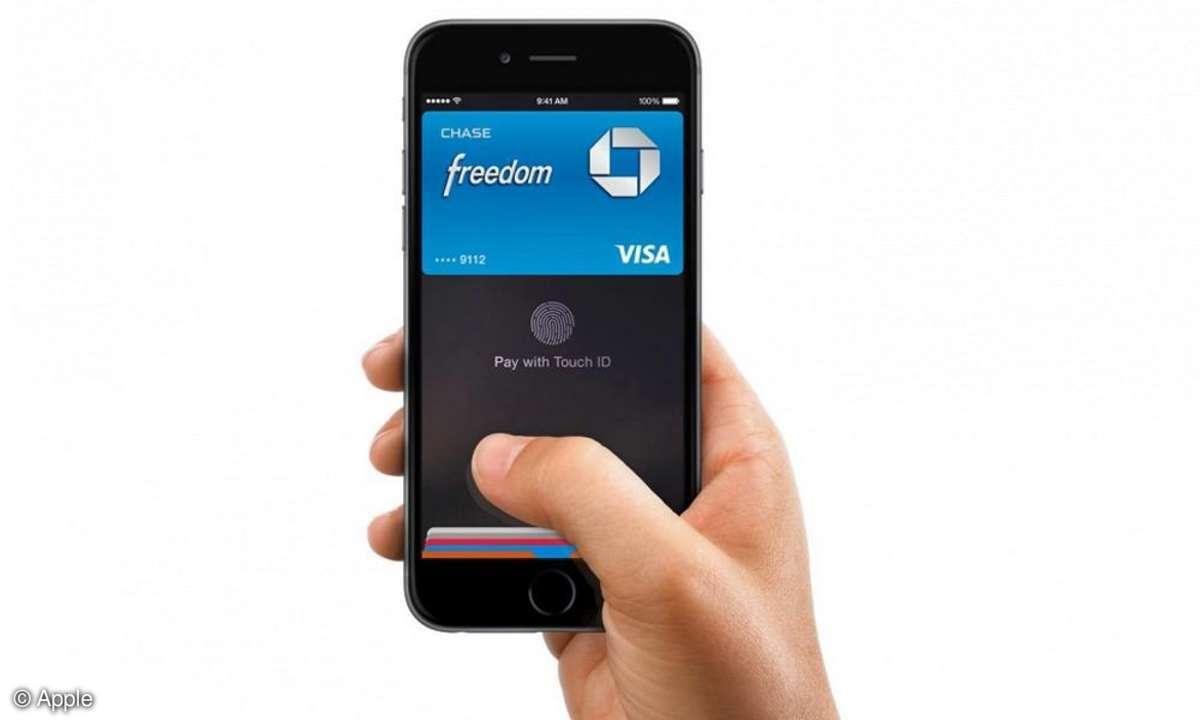 Apple Pay auf dem iPhone