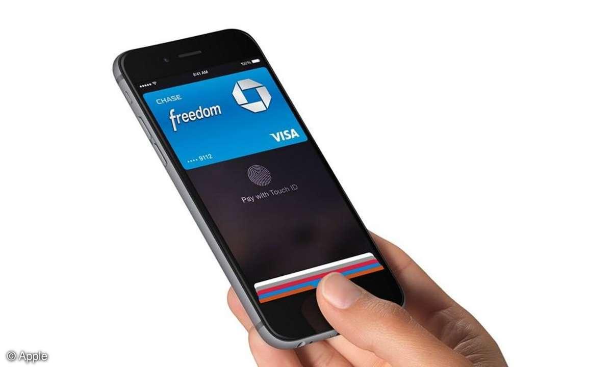 Apple Pay auf dem iPhone 6