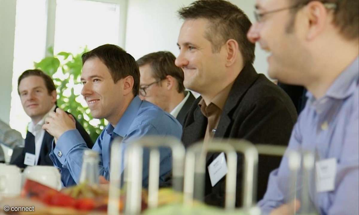 Jurysitzung connect App Awards 2014