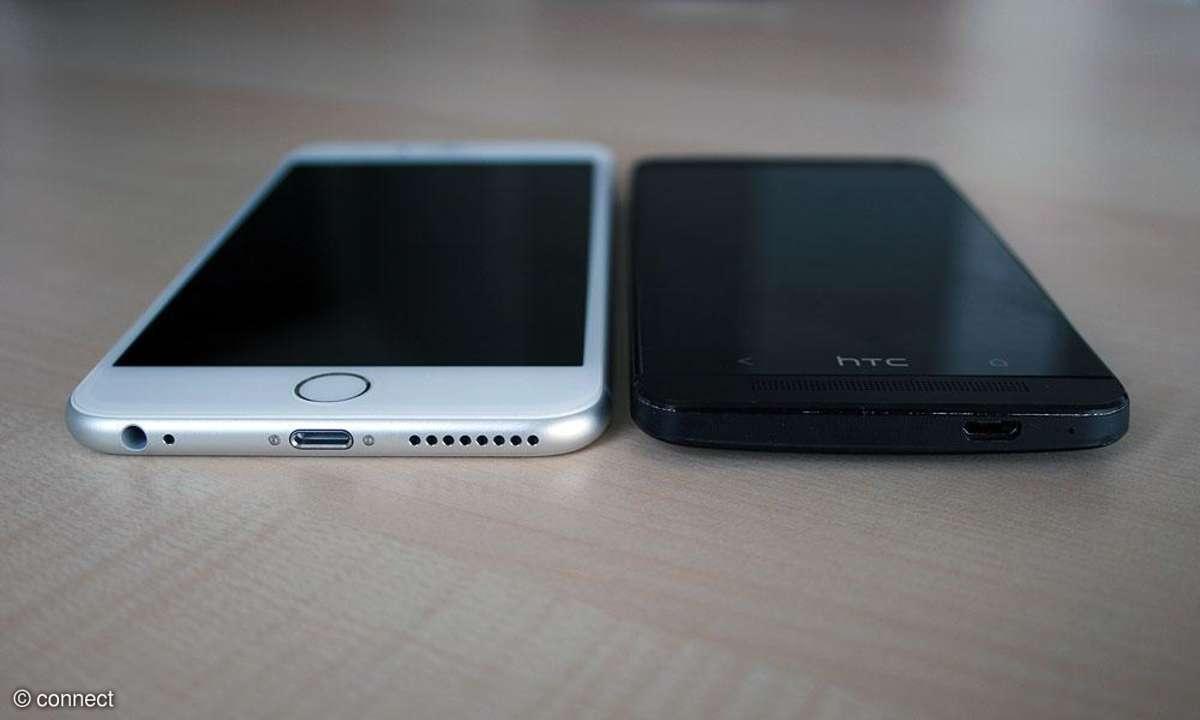 Apple iPhone 6 Plus im Größenvergleich