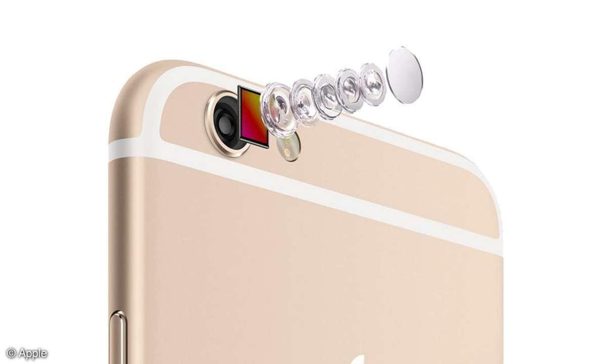 iPhone 6 Farbe beige Kamera