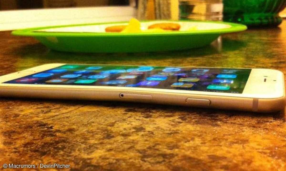 iPhone 6 Plus verbogen