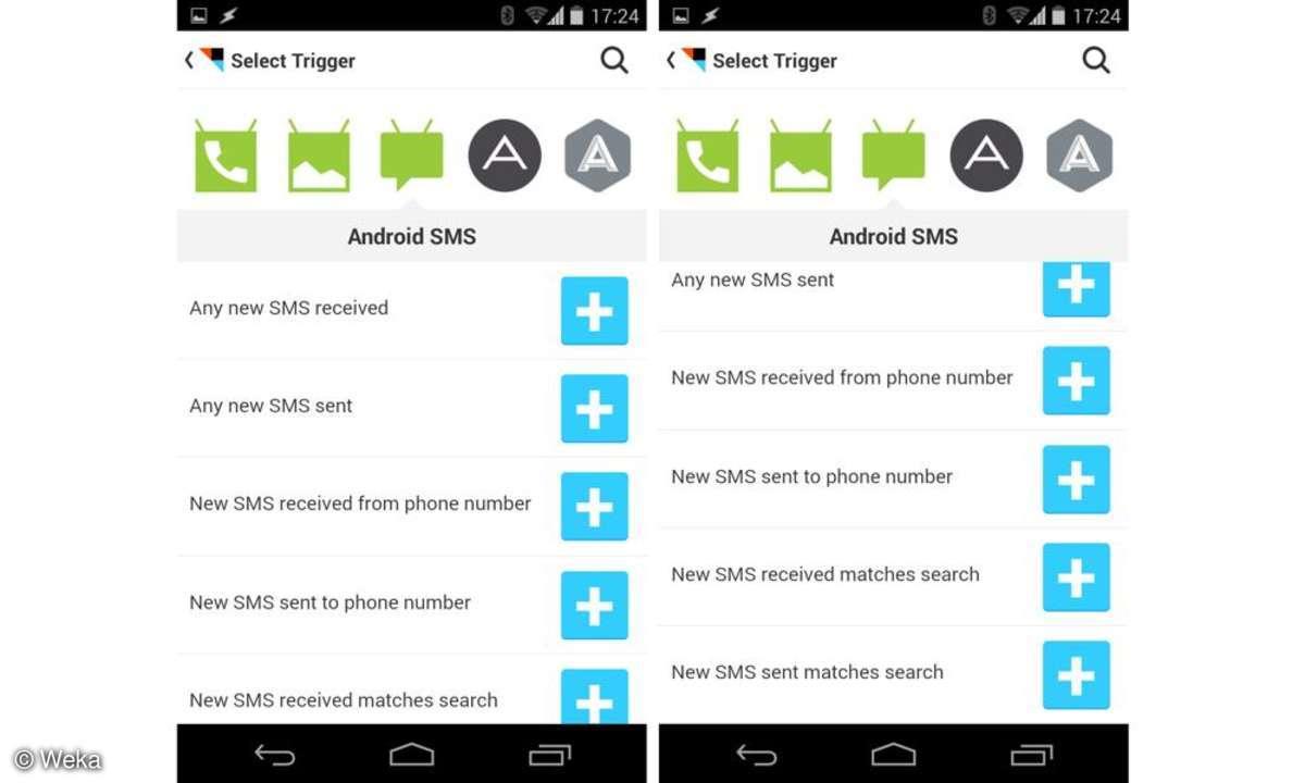 Connect IFTTT für Android