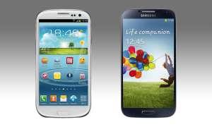 Samsung Galaxy S3 und S4