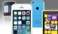 iPhone 5S, iPhone 5C, Blackberry Q5, Nokia Lumia 1020