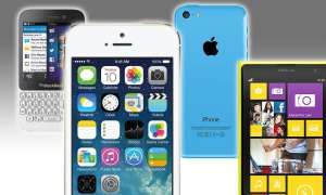 iPhone 5S, iPhone 5C, Blackberry Q5, Nokia Lumia 1020
