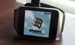 Windows 95 auf Smartwatch
