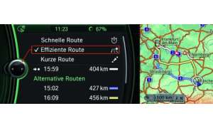 Navigationssysteme ab Werk: BMW iDrive und Audi MMI