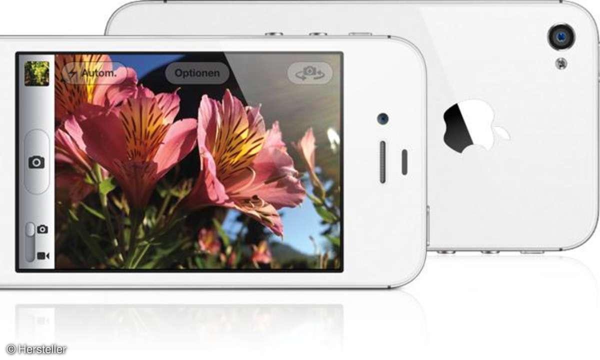 iPhone 4S versus Galaxy Note