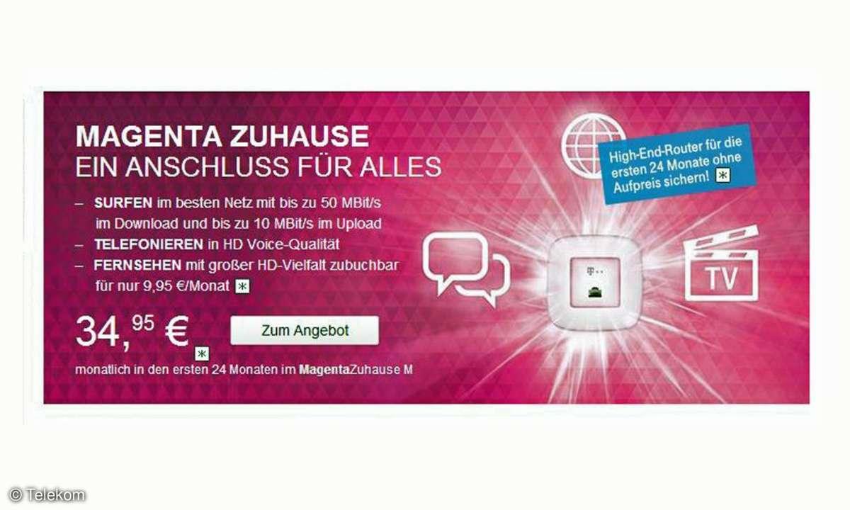 Telekom Magenta Zuhause