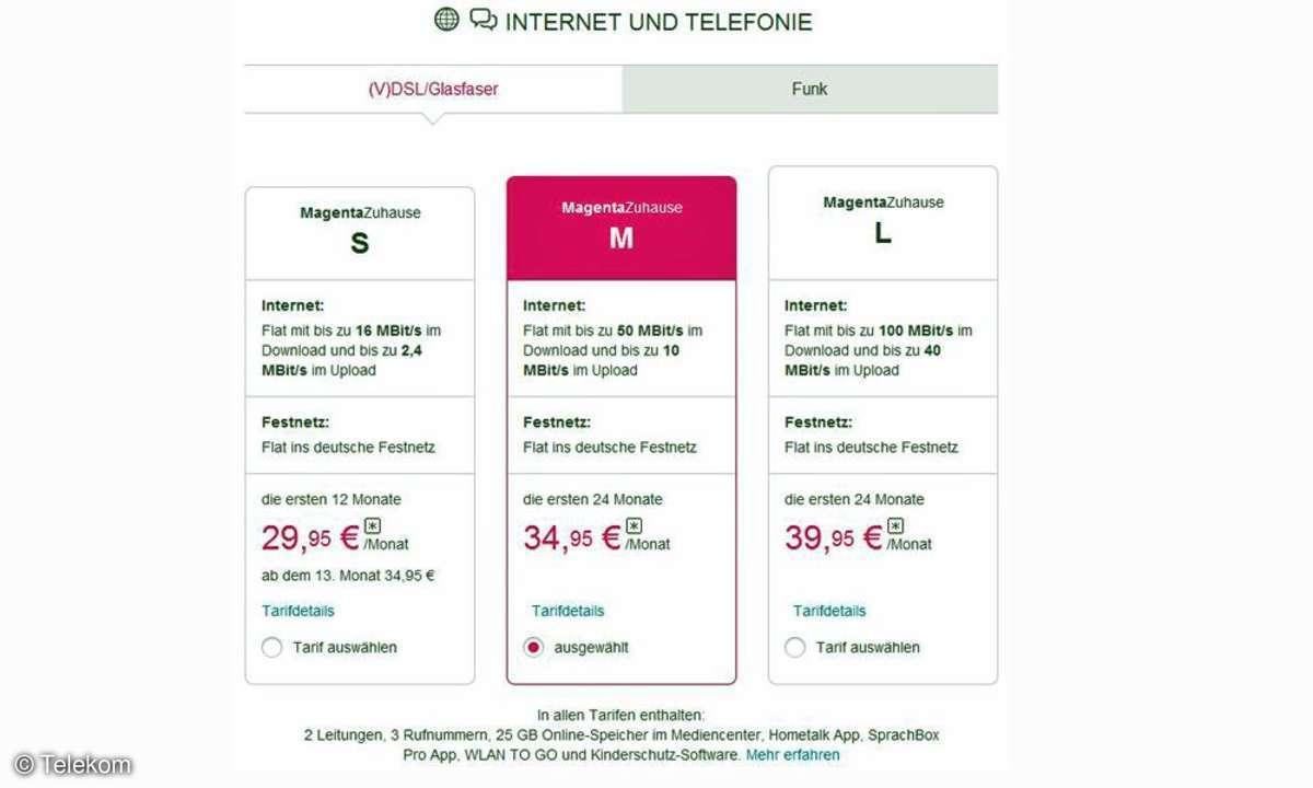 Telekom MagentaZuhause
