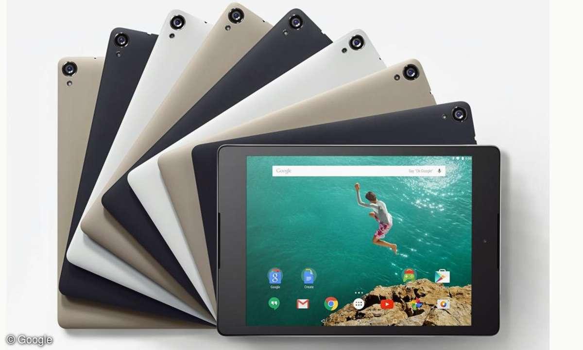 HTC Nexus 9: das Google-Tablet