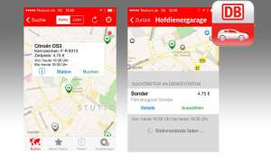 Flinkster Carsharing App
