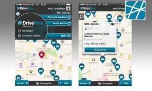 DriveNow Carsharing App