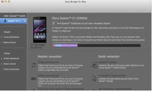 Sony Bridge for Mac