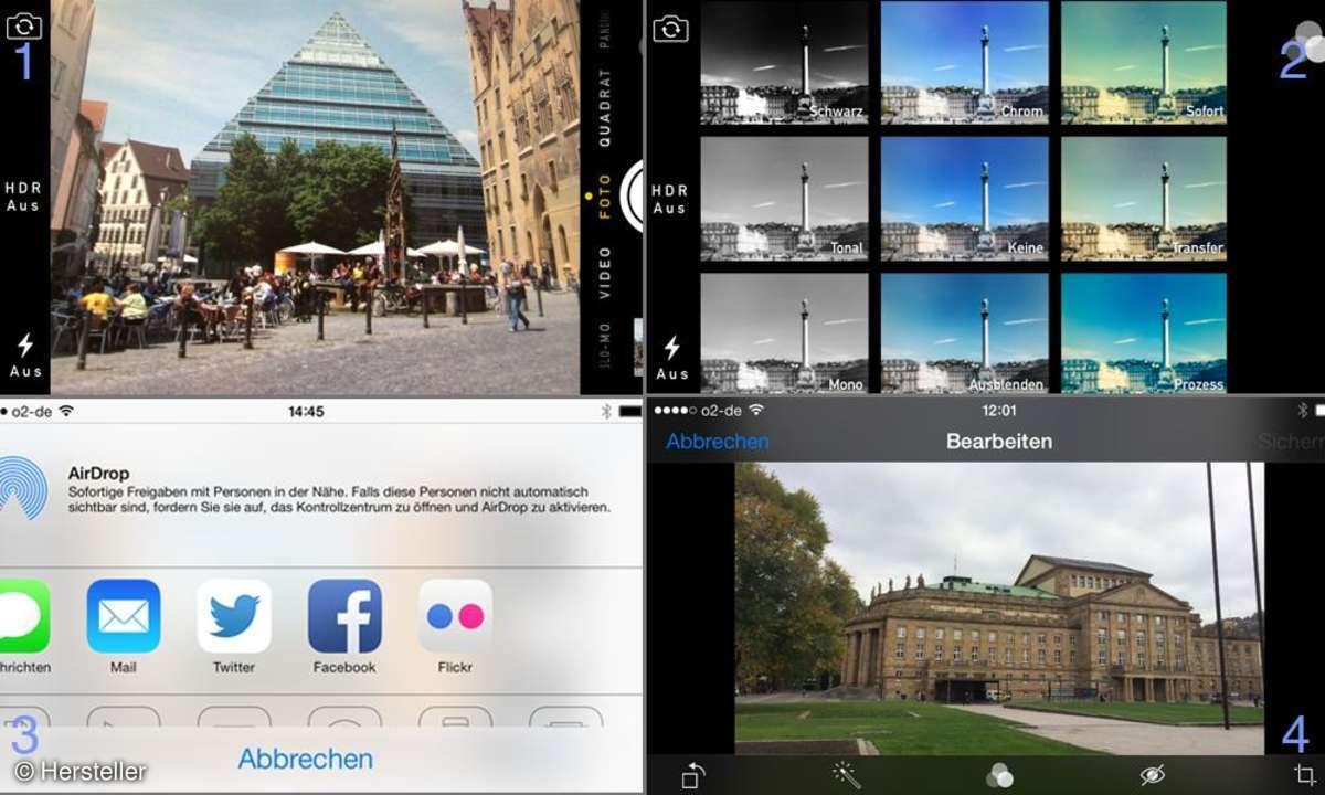 Apple iPhone 5s Kamera