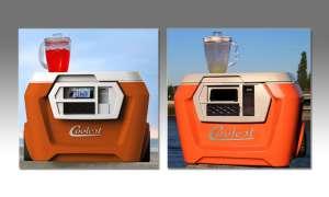 Coolest Cooler in Aktion