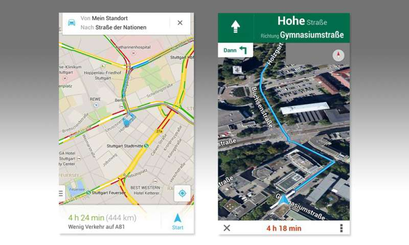 google maps app jetzt auch mit offline navigation connect. Black Bedroom Furniture Sets. Home Design Ideas